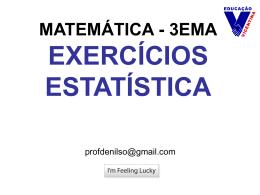 Matemática - Estatística