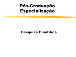 Pesquisa Científica - pessoal.utfpr.edu.br