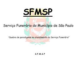 SFMSP - Prefeitura de São Paulo