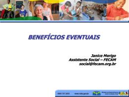 2.BENEFICIOS EVENTUAIS- RESUMO DO DECRETO