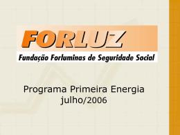Apresentação Cemig 06.2006