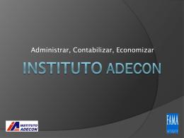 Coberturas - Instituto ADECON