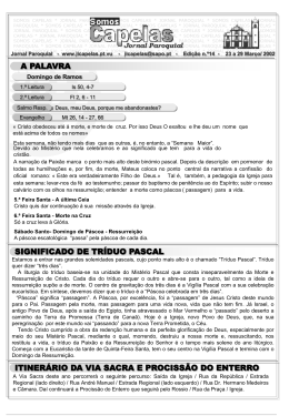- Jornal Paroquial
