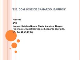 """""""E.E. Dom José de C. Barros"""""""