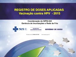 Registro HPV 2015