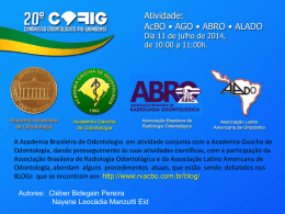 Slide 1 - Dr. Cléber Bidegain Pereira