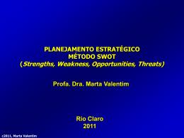 Planejamento Estratégico - UNESP: Câmpus de Rio Claro
