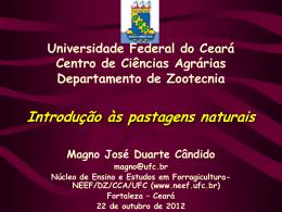 CAATINGA Importante recurso forrageiro do Nordeste