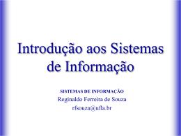 SI Reginaldo - DCC