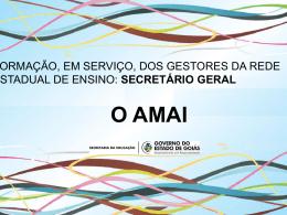 a ficha amai - Secretaria da Educação do Estado de Goiás