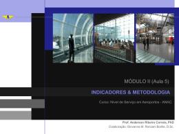 Módulo 2.1: Indicadores e metodologia