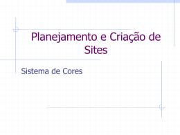 Planejamento e Criação de Sites