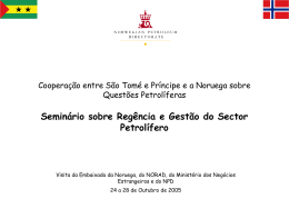 Petroleum sector governance and management