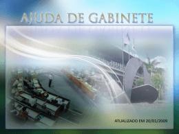 AJUDA DE GABINETE - Câmara Municipal de Belo Horizonte