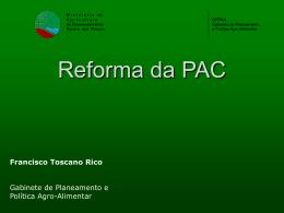 Reforma da PAC