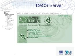 BVS - DeCS