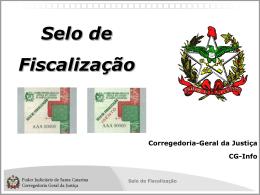 Slide 1 - Poder Judiciário de Santa Catarina