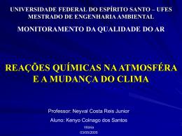 Efeito_Estufa - Universidade Federal do Espírito Santo