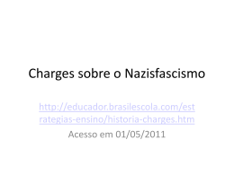 Charges sobre o Nazisfascismo