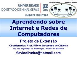 Aprendendo sobre Internet e Redes de
