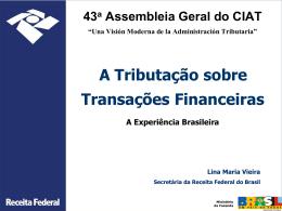 A tributação sobre transações financeiras