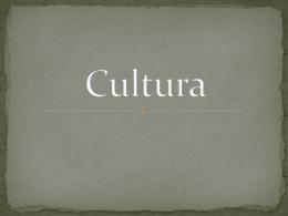 Cultura.