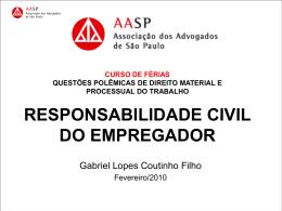 casuística - Gabriel Lopes Coutinho Filho
