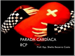 PARADA CARDÍACA RCP