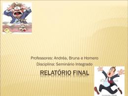 Relatório Final – Seminário Integrado (1)