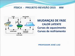Termometria - Professor José Luiz