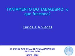 TRATAMENTO DO TABAGISMO: o que realmente funciona?