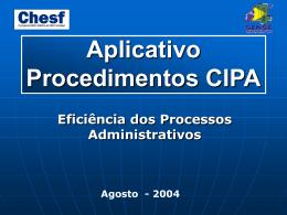 AUTOMAÇÃO DOS PROCESSOS ADMINISTRATIVOS (CT 37)