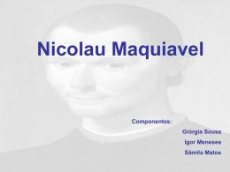 Maquiavel 1