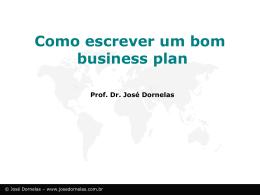 emp4 - Empreendedorismo – Prof. José Dornelas
