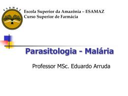 Malaria - Página inicial
