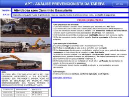 APT 16 - Atividades com Caminhão Basculante