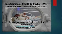 Doença hemorrágica do recém-nascido