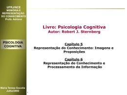 Psicologia Cognitiva - Maria Teresa Gouvea