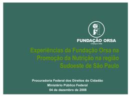 Slide 1 - Ministério Público Federal
