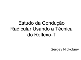 do reflexo carporradial