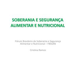 Fórum Brasileiro de Soberania e Segurança
