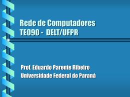 Introdução - Engenharia Elétrica da UFPR