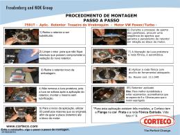 7591T – VW Tras. Virabrequim motor Power – Passo a Pas