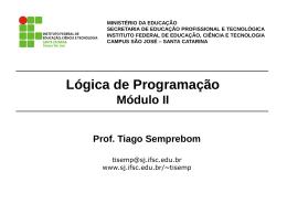 logica5 - IFSC Campus São José