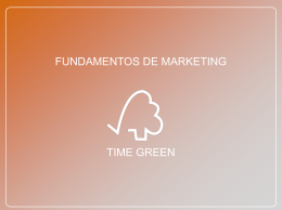FUNDAMENTOS DE MARKETING TIME GREEN LUIZ CARLOS