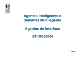 Agentes de Interface