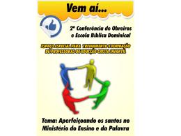 Liderança cristã em Apresentaç