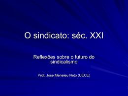 SindicalismodoSeculoXX