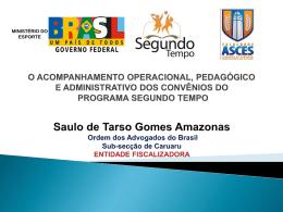 Saulo de Tarso Gomes Amazonas