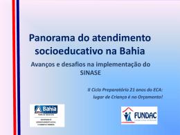 Medidas Socioeducativas - FUNDAC - Ariselma